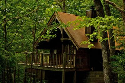 Camping Cabin in the Woods  Cabins for Rent in White